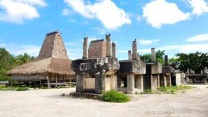 Bangunan Megalitik di Kampung Praiwayang. Foto: Google Maps / Yenni Natalia Jahja