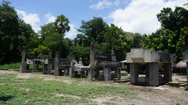 Bangunan megalitik di Kampung Pau Umabara. Foto: Google Maps / Sugih SM