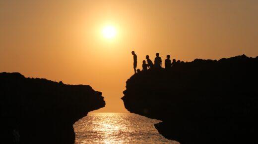 sunset Pantai Mandorak