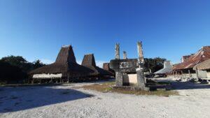 Kampung Praiwayang di Sumba Timur. Foto: Google Maps / Westi Kurnia