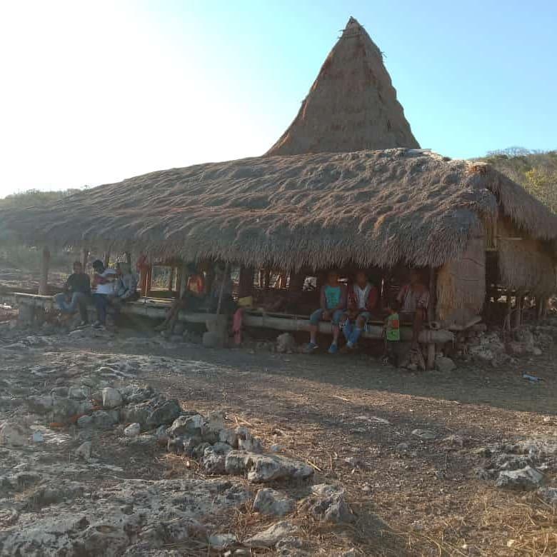 Kampung Wunga di pulau sumba