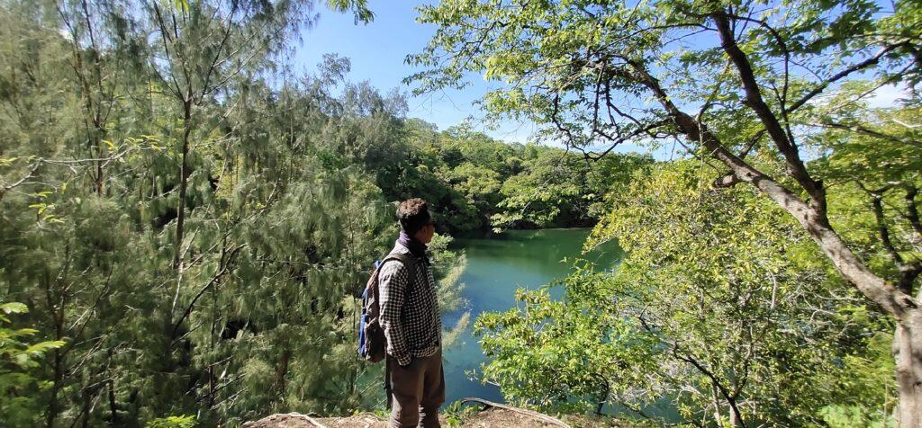Danau Indah Wunga Timur