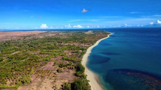 Pantai Laipori di Sumba Timur. Foto: instagram/sumba_drone