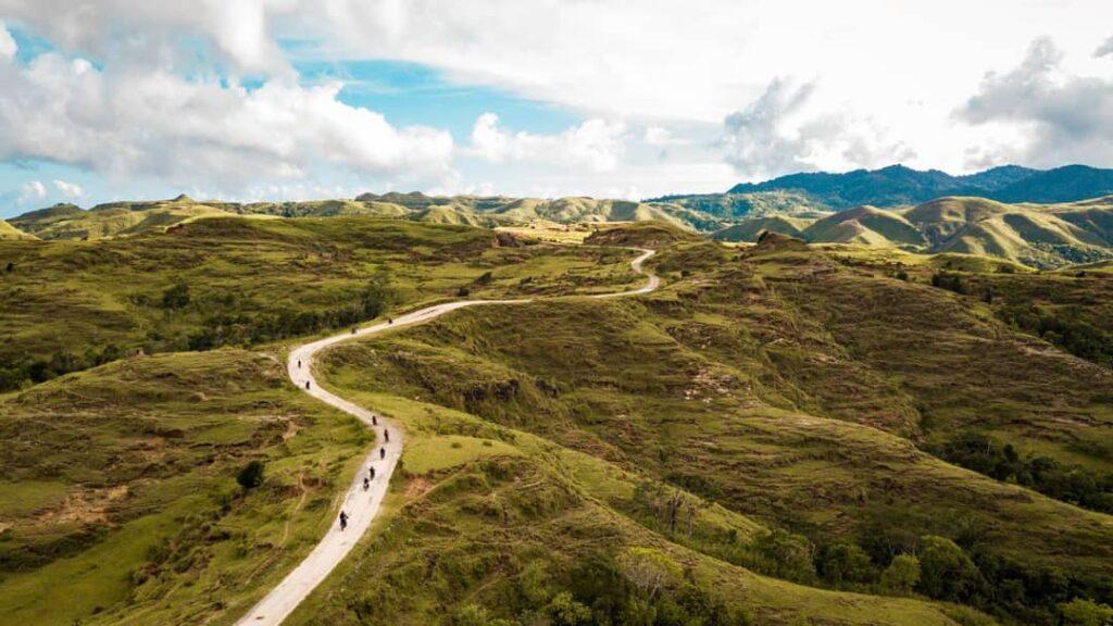 Rute menuju Pulau Salura Sumba