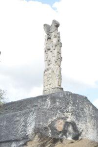 Ukiran kuburan megalitik di Kampung Praiwayang. Foto: Google Maps / rendy radjah