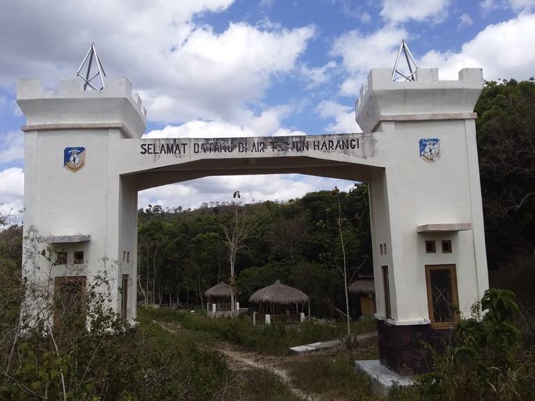 lokasi Air Terjun Harangi Sumba