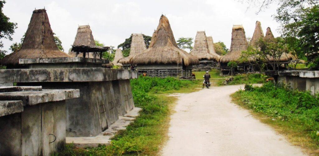 Desa Adat Praiyawang, Rumah Adat Sumba Timur