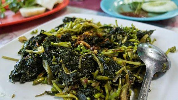 Sayur Rumpu Rampe, makanan khas tambolaka