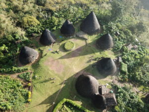 Desa Wae Rebo di Flores. Foto: Google Maps / Ria Pattiwael