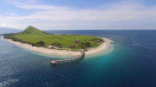 Pulau Kenawa NTB. Foto: Google Maps / bent
