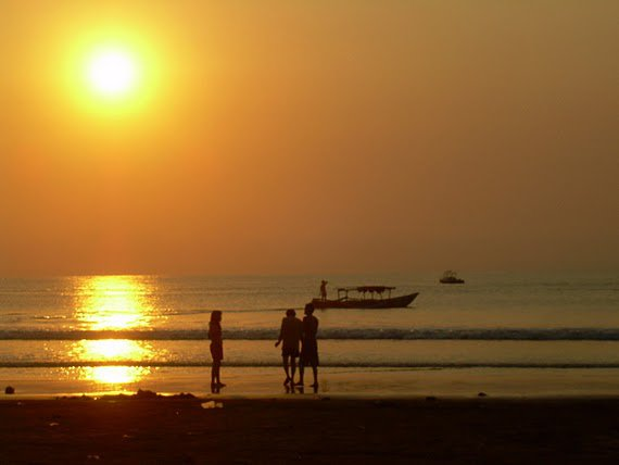 Sunset pantai pangandaran