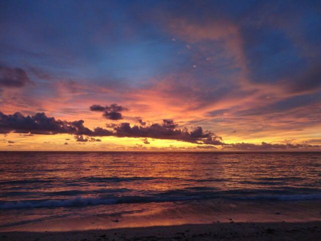 sunset di Pantai Halete Sumba